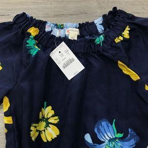 Crewcuts Dresses - Girls' floral jumpsuit Crewcuts NWT